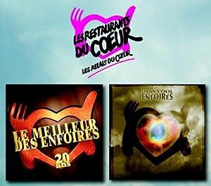 Le Meilleur Des Enfoirés 20 Ans + 2011 Dans L'Oeil Des Enfoirés (2 Double CD)