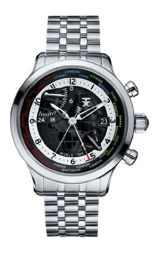 TX Unisex T3C477 World Time Airport Lounge Watch