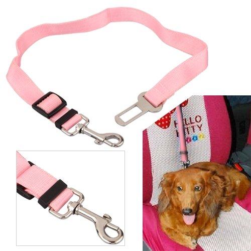 Pink Car Vehicle Auto Seat Safety Belt Seatbelt for Dog Pet