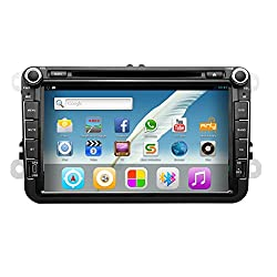 See Pupug 8 Inch Android 4.2 HD Car Video GPS Navigation Wifi DVD Player Radio Stereo for VW Volkswagen Details