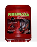 Emergency Escape Mask - Industrial and Urban Survival - Protects for 60 Min Against Smoke, Gas, & Fire Inhalation - By Firemask. Great for Home, Office, Truck, Tall Buildings. Get Peace of Mind Now!