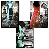 Victoria Holt Collection 3 Books Set, (The Shadow of the Lynx, The Shivering Sands and Mistress of Mellyn)