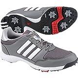 adidas Men's Tech Resonse 4.0 Golf Shoe,Iron/White/Black,10 M US