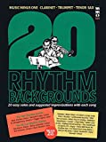 img - for 20 Rhythm Backgrounds: Music Minus One Clarinet, Trumpet, Tenor Sax Deluxe 2-CD Set book / textbook / text book