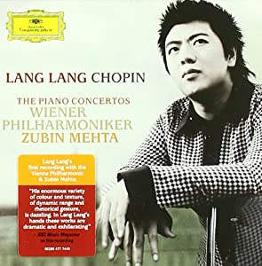 Lang Lang Wiener Phi - Chopin The Piano C Cd from Universal