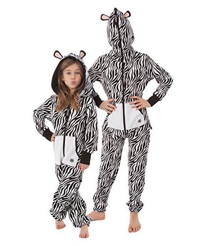 Zipups Tuta Monopezzo Zebra