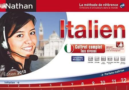Nathan Italien coffret complet - édition 2010