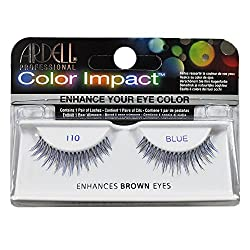 Ardell 110 Color Impact Lashes, Blue