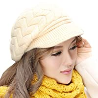Women Girl Slouchy Knit Beanie Winter…