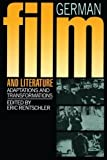 img - for German Film & Literature by Eric Rentschler (1986-06-26) book / textbook / text book