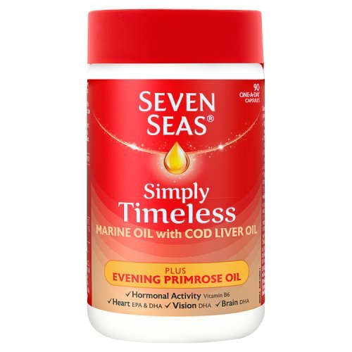 seven-seas-simply-timeless-marine-oil-with-cod-liver-oil-plus-evening-primrose-oil-90-capsules