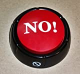 The No Button the No Button Is a Handy Button That Says No in 10 Different Variations