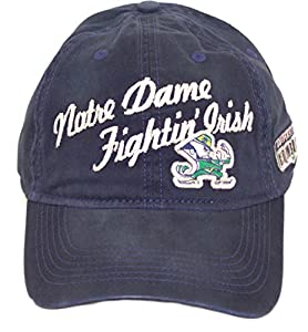 ncaa licensed notre dame slouch fit baseball