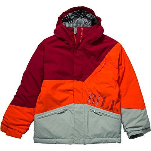 Billabong Boys' Buddy Jacket Tango Red Large front-941772