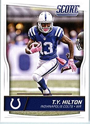 2016 Score #140 T.Y. Hilton Indianapolis Colts Football Card-MINT