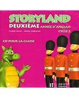 Storyland Anglais Cycle 3 CD Audio 2e Annee