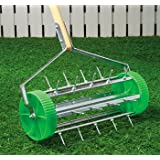 Rolling Lawn Aerator ~ bandwagon