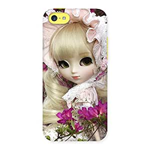 Angel Look Doll Back Case Cover for iPhone 5C