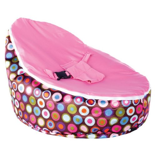 Learn More About BayB Bean Bag For Babies - Filled, Ready To Use - Ships in 24 Hrs (Pink)