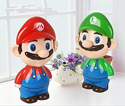 Nichome Super Mario Cute Cartoon LED Rechargeable Table Light Nightlight Bedside Lamp for Children's Gift