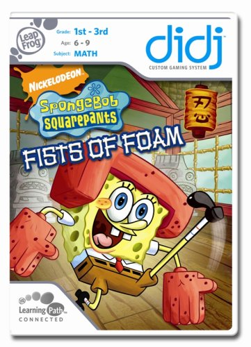 LeapFrog  Didj Custom Learning Game SpongeBob SquarePants:  Fists of Foam - 1