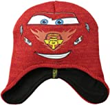 Disney Little Boys' Cars McQueen Peruvian, Red, One Size