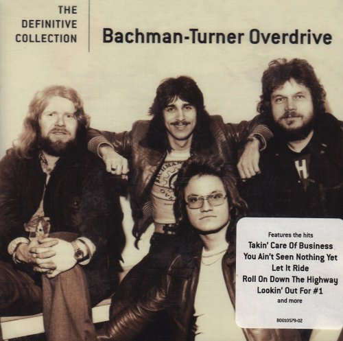 Original album cover of The Definitive Collection by Bachman-Turner Overdrive