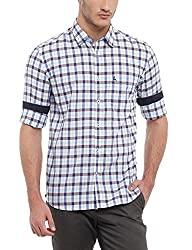 Parx Men's Medium Brown Shirt