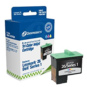 Dataproducts DPCD5882C Remanufactured Ink Cartridge Replacement for Dell T0530 (Series 1) (Color)