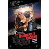 Wrongfully Accused Ver2 pelicula metal poster cartel hojalata signo 20x30cm