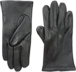 Touchpoint Men\'s 3 Point Leather Glove, Black, Medium
