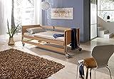 Pflege-und-Seniorenbett-Dali-II-90x200cm-elektrisch-verstellbarer-Lattenrost-Burmeier