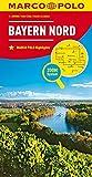 MARCO POLO Karte Deutschland Blatt 12 Bayern Nord 1:200 000 (MARCO POLO Karte 1:200000) - MAIRDUMONT