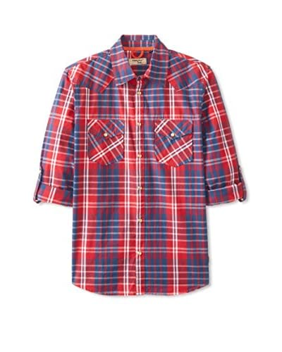 Triple Five Soul Men's Plaid Shirt