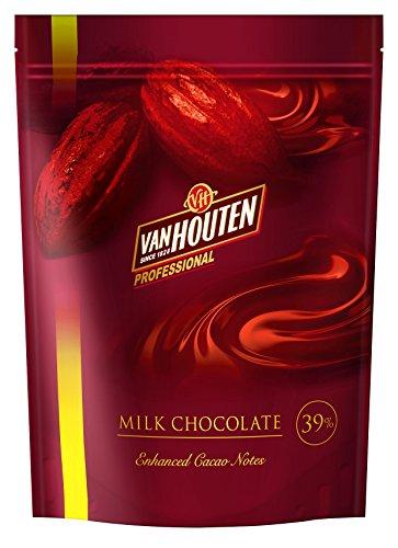 VANHOUTEN・バンホーテン・ヴァンホーテンミルクチョコレート 39% 1kg