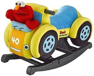 Tek Nek Sesame Street Elmo's Racing Rocker - Animated