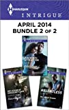 Harlequin Intrigue April 2014 - Bundle 2 of 2: The Legend of Smugglers Cave\Relentless\Diagnosis: Attraction