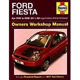 Ford Fiesta Owners Workshop Manual: 2002 to 2008 (Haynes Service and Repair Manuals)by J H Haynes & Co Ltd