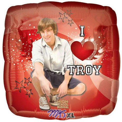 "18"" High School Musical I Heart Troy"