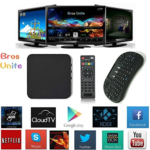 Free-Wireless-Mini-Keyboard-Bros-Unite-MBOX-Quad-Core-Smart-TV-BOX-Mini-PC-Streaming-Media-Player-with-KODIXBMC-Streamer-1GB8GB-Fully-Loaded-Google-Android-44-KitKat-CPU-Amlogic-S805-15-GHz