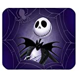 Mystic Zone The Nightmare before Christmas Jack Skellington Rectangle Mouse Pad (Black) - MZM00085