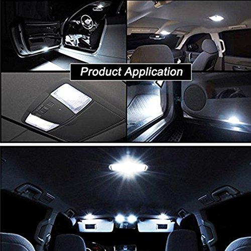 6 pack 194 white led light 12v 146lm 6000k amazenar car interior and exterior t10 6 smd 5630. Black Bedroom Furniture Sets. Home Design Ideas