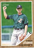 2011 Topps Heritage Minor League Baseball Card # 157 Marcus Littlewood - Clinton Lumberkings (Prospect / Rookie Card) MLB Trading !