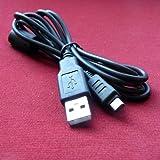 CB-USB5 CB-USB6 USB Cable Cord for Olympus Camedia / Camera, MJU, Stylus 1000, 1010, 1020, 1030 SW, 1040, 1050 SW, 1060, 1070, 1200, 500, 5000, 550 WP, 600, 700, 7000, 7020, 7040, 710, 720 SW, 725 SW, 730, 740, 750, 760, 770 SW, 775 SW, 780, 790 SW, 795 SW, 800, 810, 820, 830, 840 SW, 850 SW, 9000, 9010, Tough 3000, 6000, 6010, 6020, 7030, 8000, 8010, Verve S, TG-310, TG-320, TG-610, TG-805, TG-810, TG-820 – 4.5 Feet black – Bargains Depot®