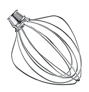 KitchenAid K45WW Wire Whip Replacement for KSM15, KSM110, KSM103, KSM75, KN15, K45, and KSM90 Stand Mixer