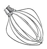 KitchenAid K45WW wire whisk for KitchenAid mixer
