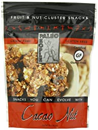 Paleo People Gluten Free Fruit & Nut Clusters, Cacao Nut, 5 Ounce