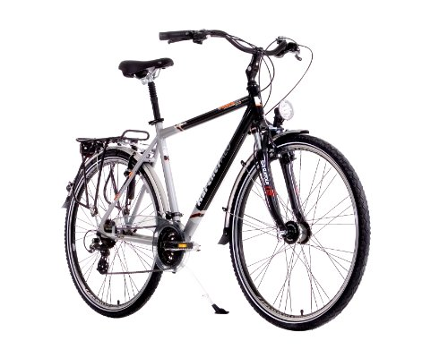karcher herren alu trekking fahrrad 24 gang shimano. Black Bedroom Furniture Sets. Home Design Ideas