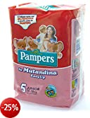 pampers - pannolini easy up junior taglia 5