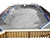 PoolTux 12122242I King Winter Cover for 16-Feet by 36-Feet Inground Pool